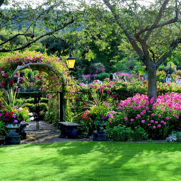 The Butchart Gardens Black Ball Ferry Line Daily Departures To Victoria And Port Angeles